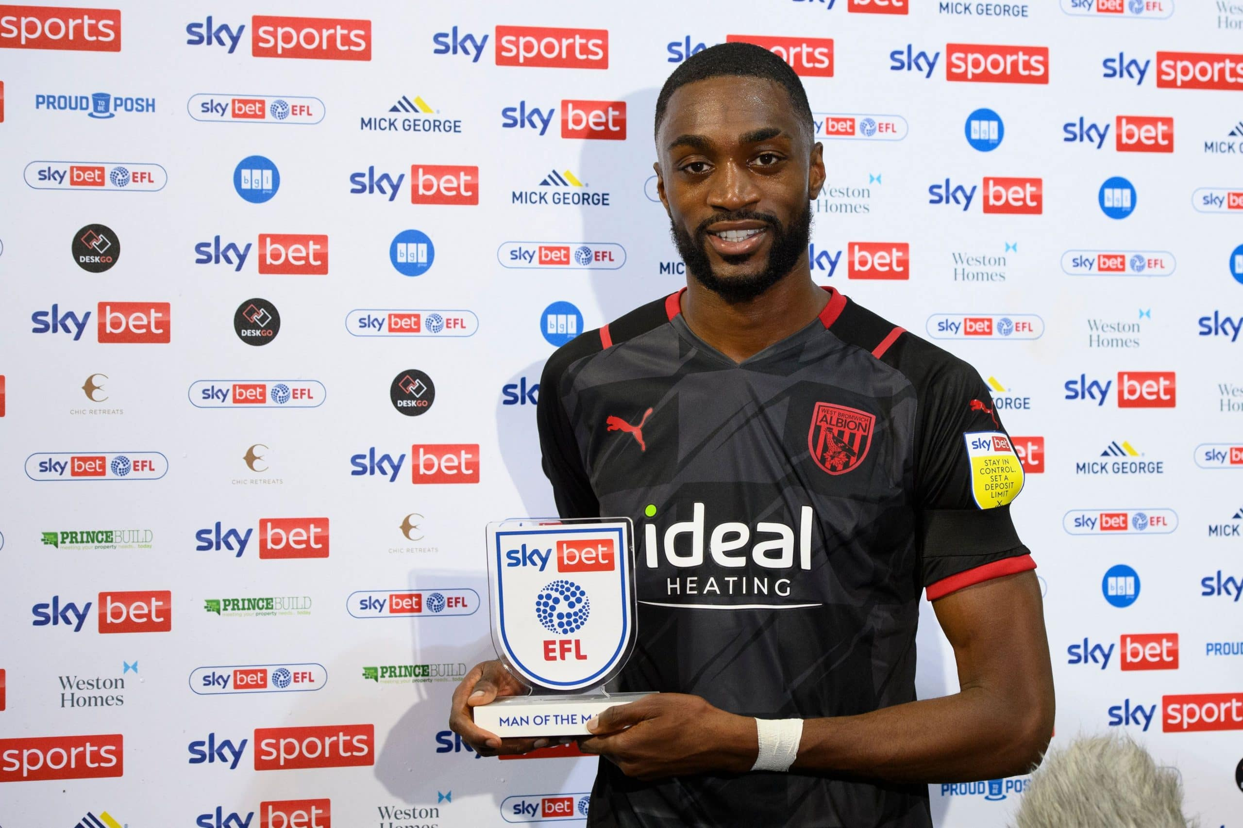 Ajayi Named MOTM In West Brom's Dramatic Win At Peterborough