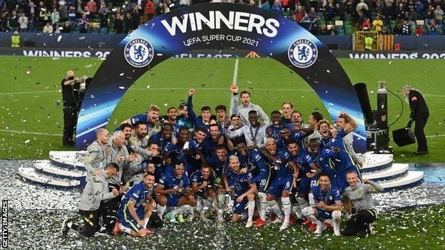 UEFA Super Cup: Chelsea Adds Another Trophy To Their Cabinet