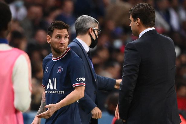 Pochettino Responds To Messi's Handshake Snub After Substition Against Lyon