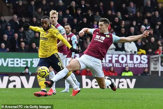 Arsenal Won't Escape Defeat Against Burnley -Jerome