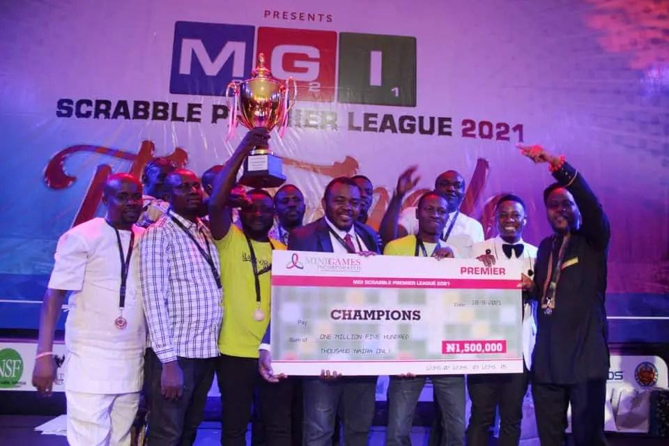 MGI Scrabble Premier League: Team Brainiacs Emerges Champions, Wins N1.5m Cash Prize
