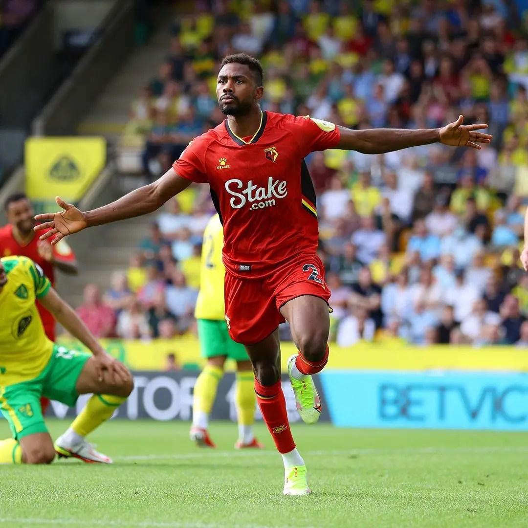 Premier League: Dennis Scores As Watford Beat Norwich To End Winless Run