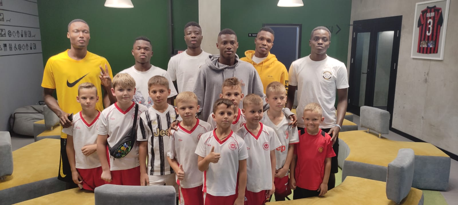 Top Ukrainian Club Sign Six Nigerian Youngsters