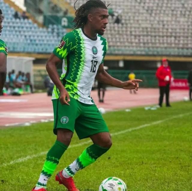 Iwobi Elated To Scoop MVP Prize Vs Liberia