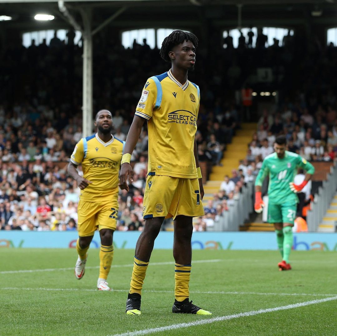Reading Boss  Hails 'Amazing' Ejaria After Win Vs Fulham