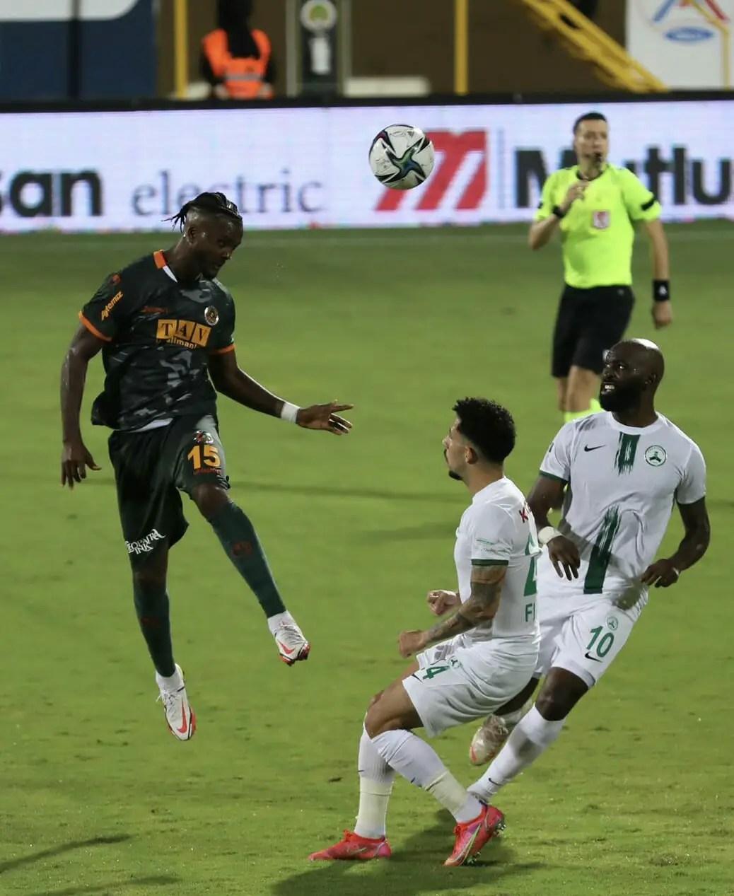 Eagles Round-up:Awaziem Marks Alanyaspor Debut With Winning Goal; Iwobi Subbed On As Everton Beat Burnley