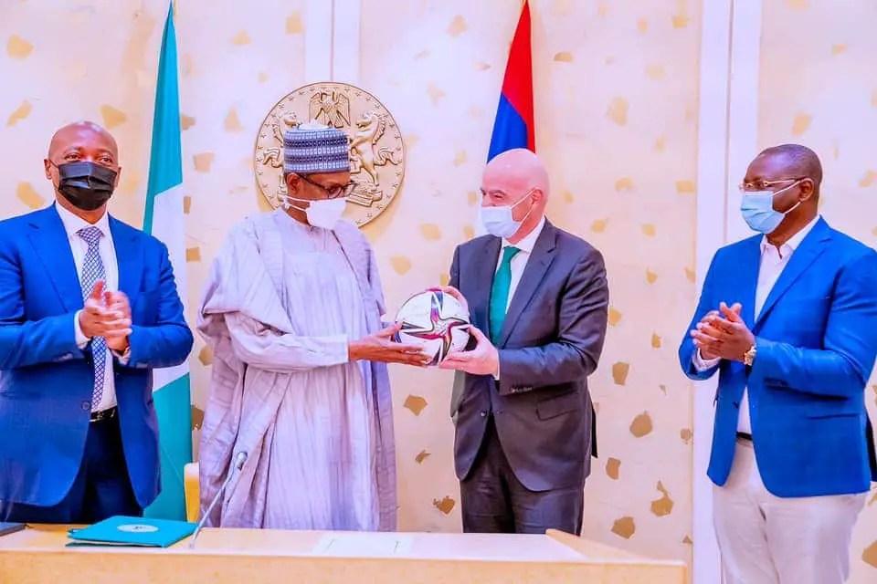 Buhari: We Will Use Football To Promote Unity, National Development