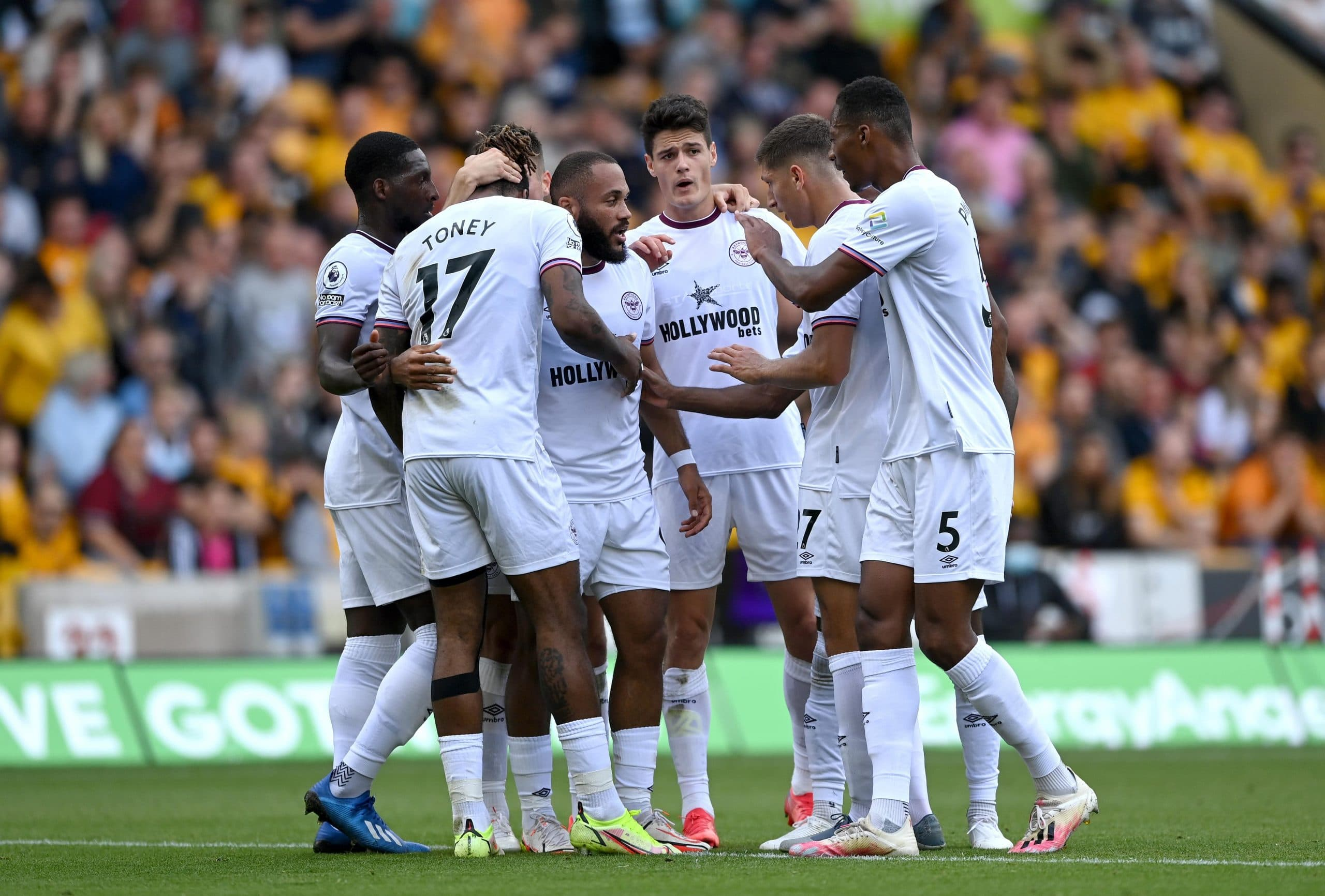 Premier League: Onyeka Subbed On As 10-man Brentford Win At Wolves