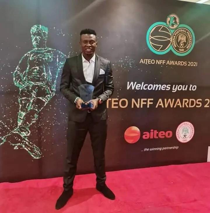 Nasarawa United Forward Nwankwo Delighted With NFF Award