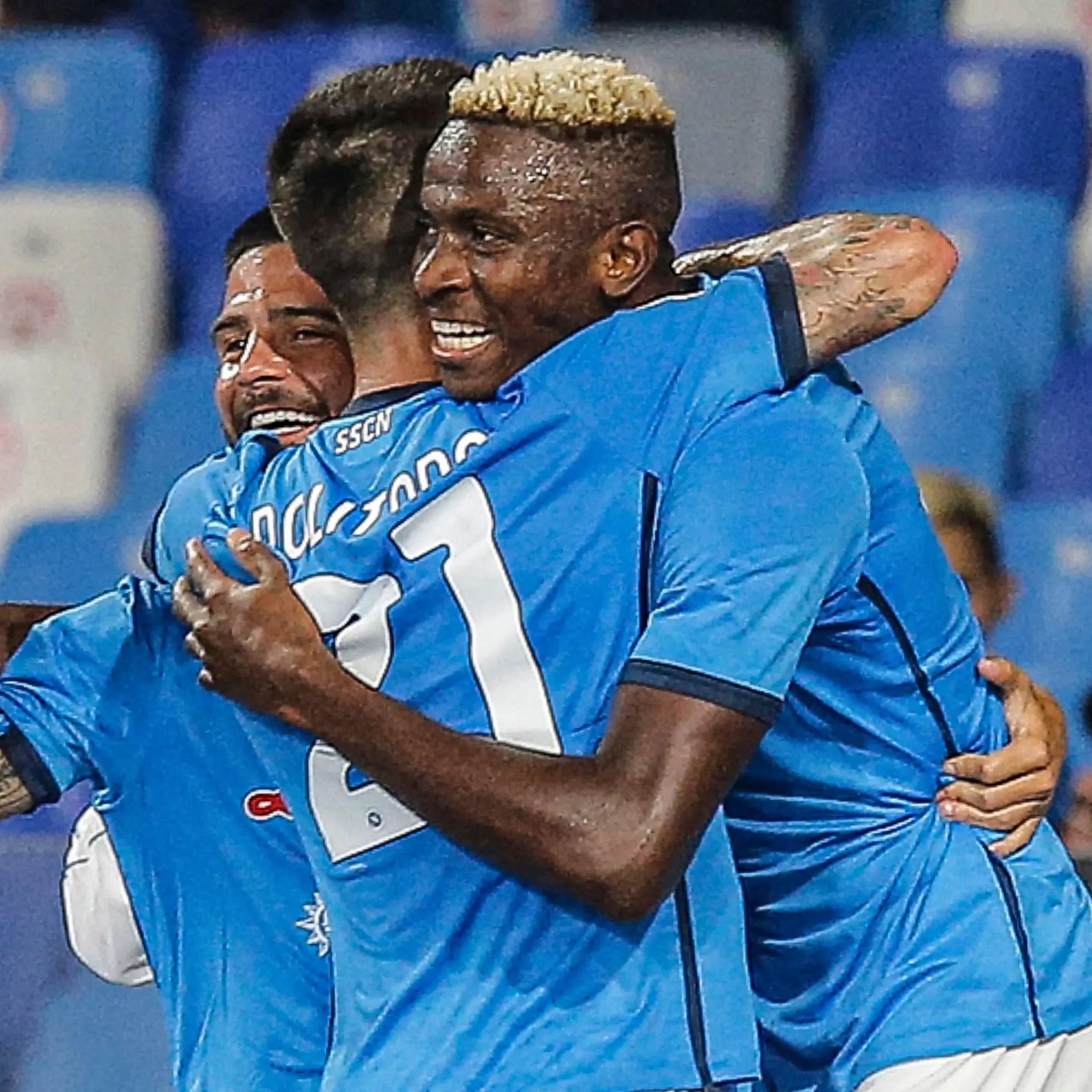Serie A: Osimhen Bags 4th League Goal As Napoli Beat Cagliari To Reclaim Top Spot