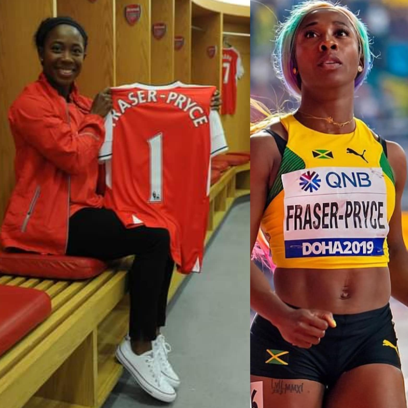 Triple Olympic Champion Fraser-Pryce Rekindles Dream Of Playing For Arsenal Ladies