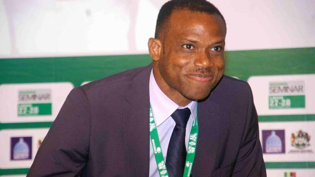 Oliseh Thrilled With Football Development Roadmap Role