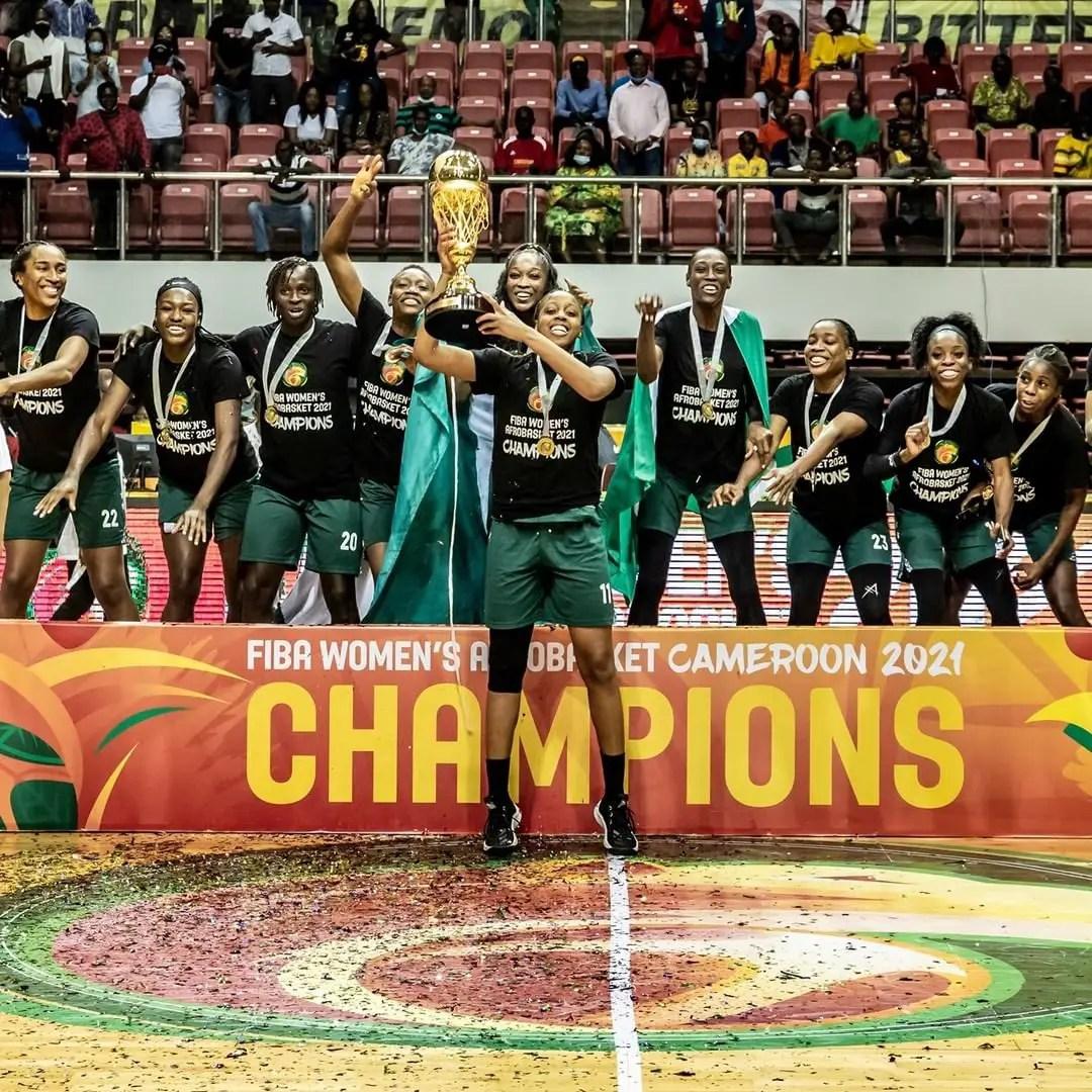 2021 Women's AfroBasket: Sports Minister Congratulates Triumphant D'Tigress