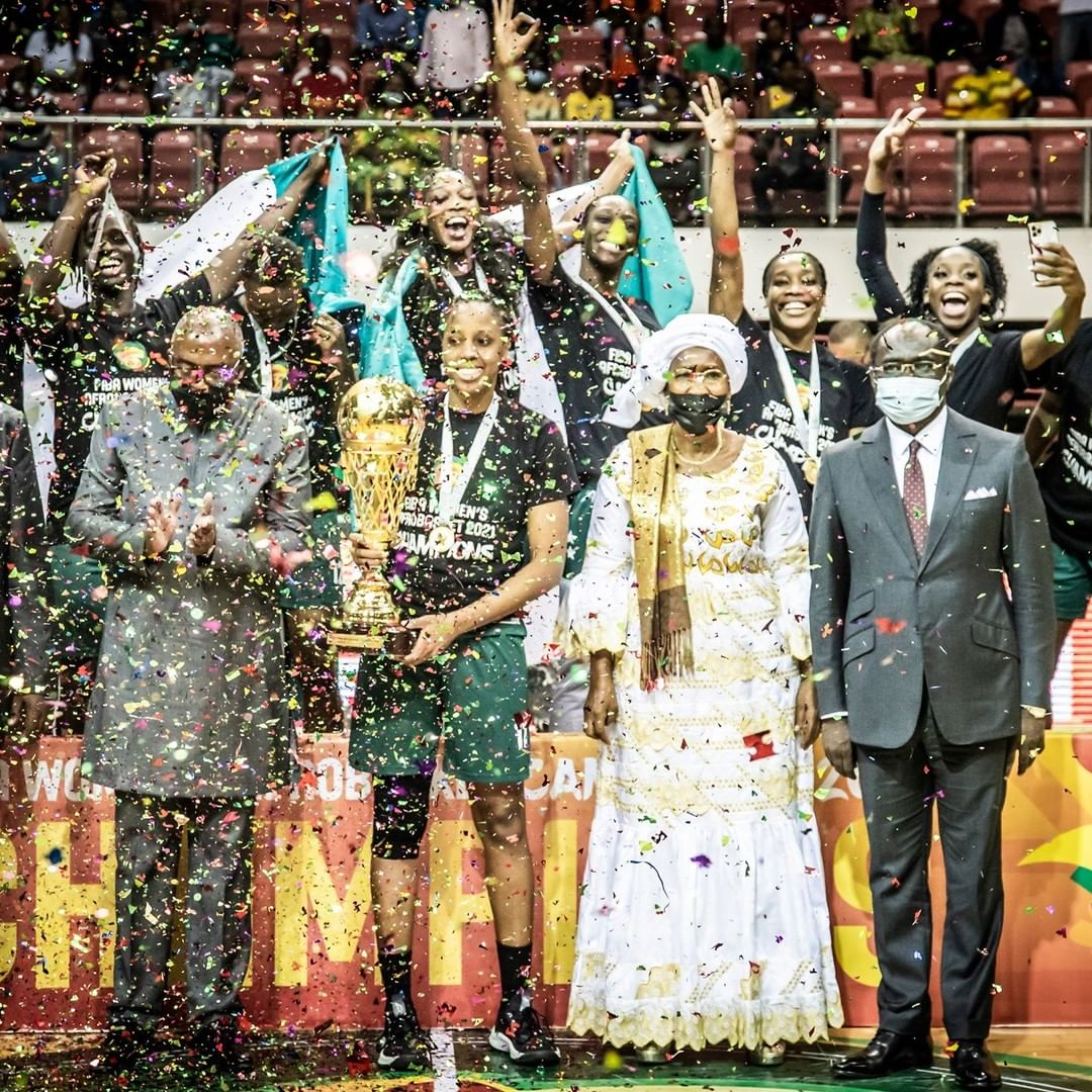 2021 AfroBasket: D'Tigress Outclass Mali To Claim 3rd Straight Continental Title