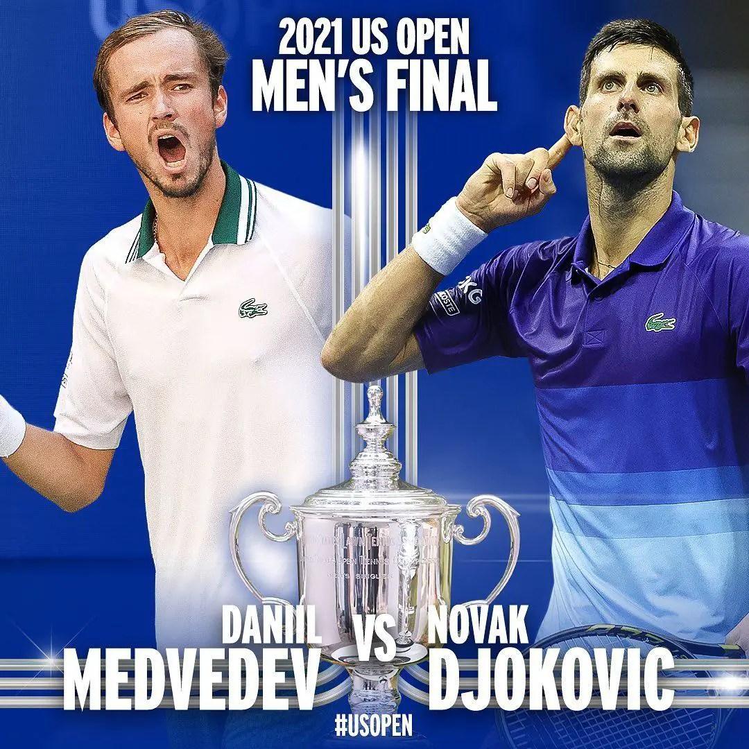 US Open Men's Singles Final: Djokovic One Step Away From Making History Vs Medvedev