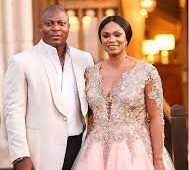 Aiyegbeni's Wife Flaunts Sweet Husband As She Celebrates Birthday (See Photos)
