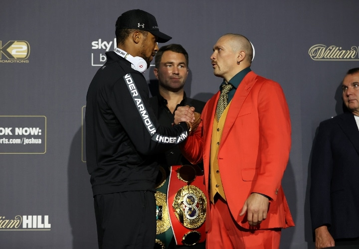 'I'll Knock Out Usyk', Anthony Joshua Vows