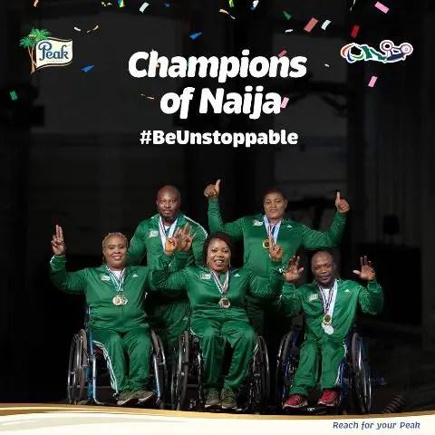 Peak Celebrates Nigeria Paralympians For New World Records Set