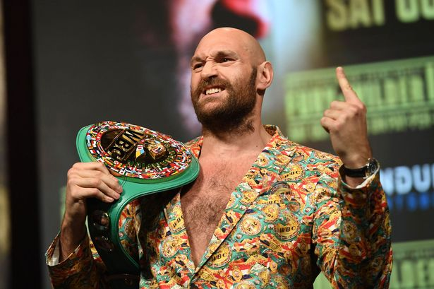 Fury Reacts To Appointment Of All-American Judges For Wilder Trilogy Fight