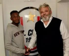 Oduamadi Joins Italian Serie D  Club AC Crema