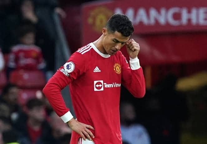 Ronaldo Reacts To Man United's Heavy Defeat To Liverpool