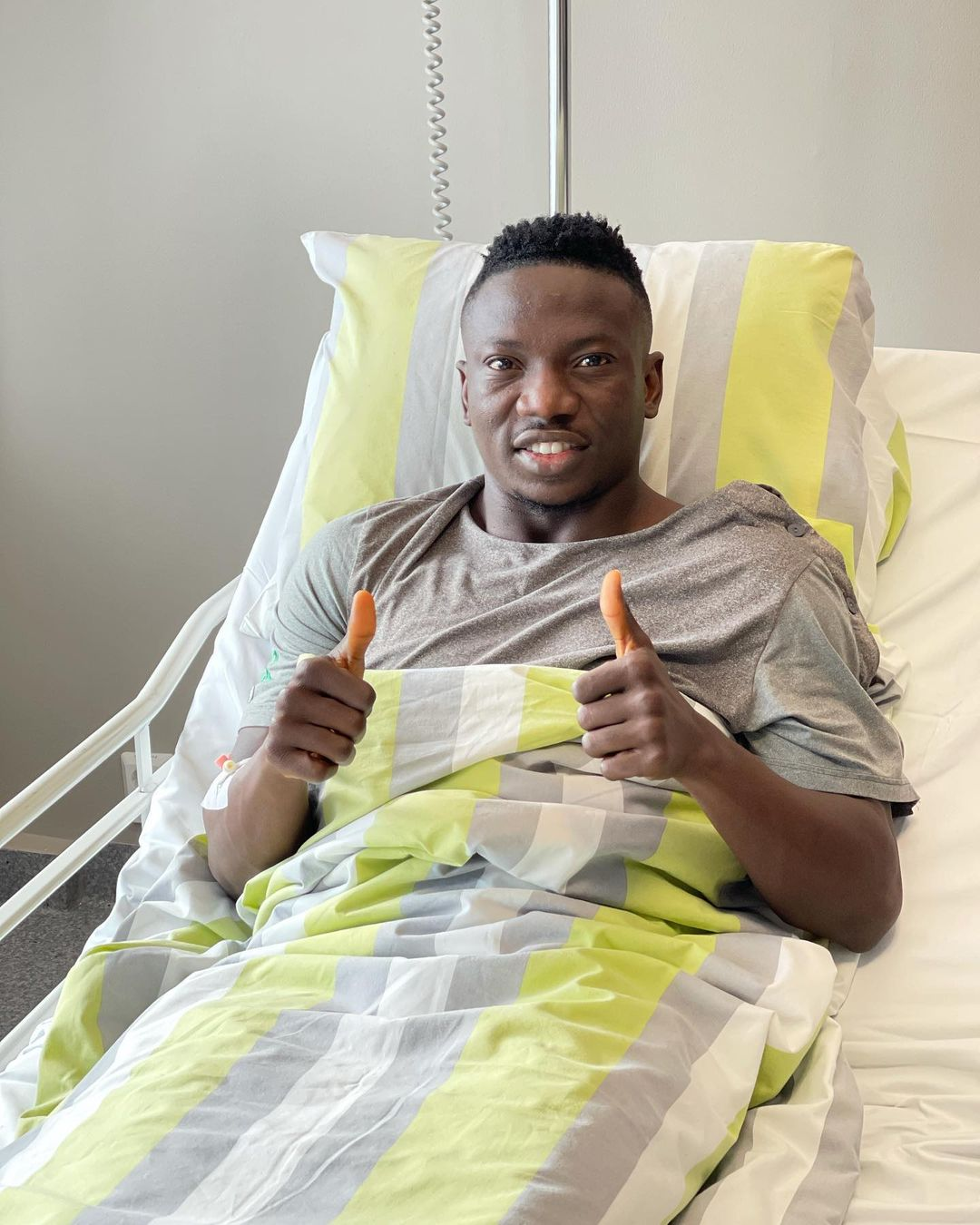 Etebo Strong, Thankful After Successful Surgery