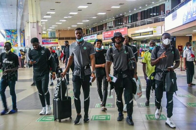 Super Eagles Off To Douala For CAR Rematch