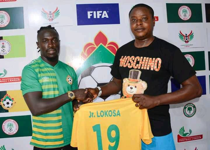 OFFICIAL: Junior Lokosa Joins Kwara United
