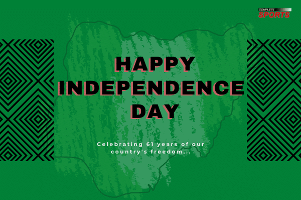 Happy 61st Independence Anniversary From Complete Sports