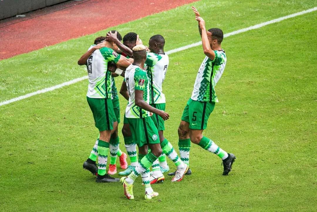 2022 WCQ:  Balogun, Osimhen On Target  As Super Eagles Pip CAR 2-0 In Douala
