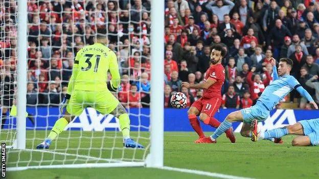 Salah Scores Sensational Solo Goal In Liverpool, Man City's Four-Goal Thriller