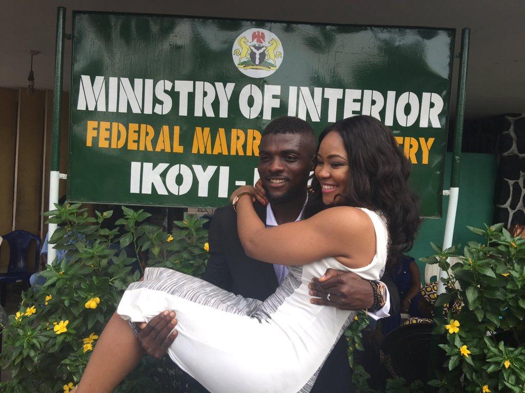 John Ogu Gets Married In Lagos