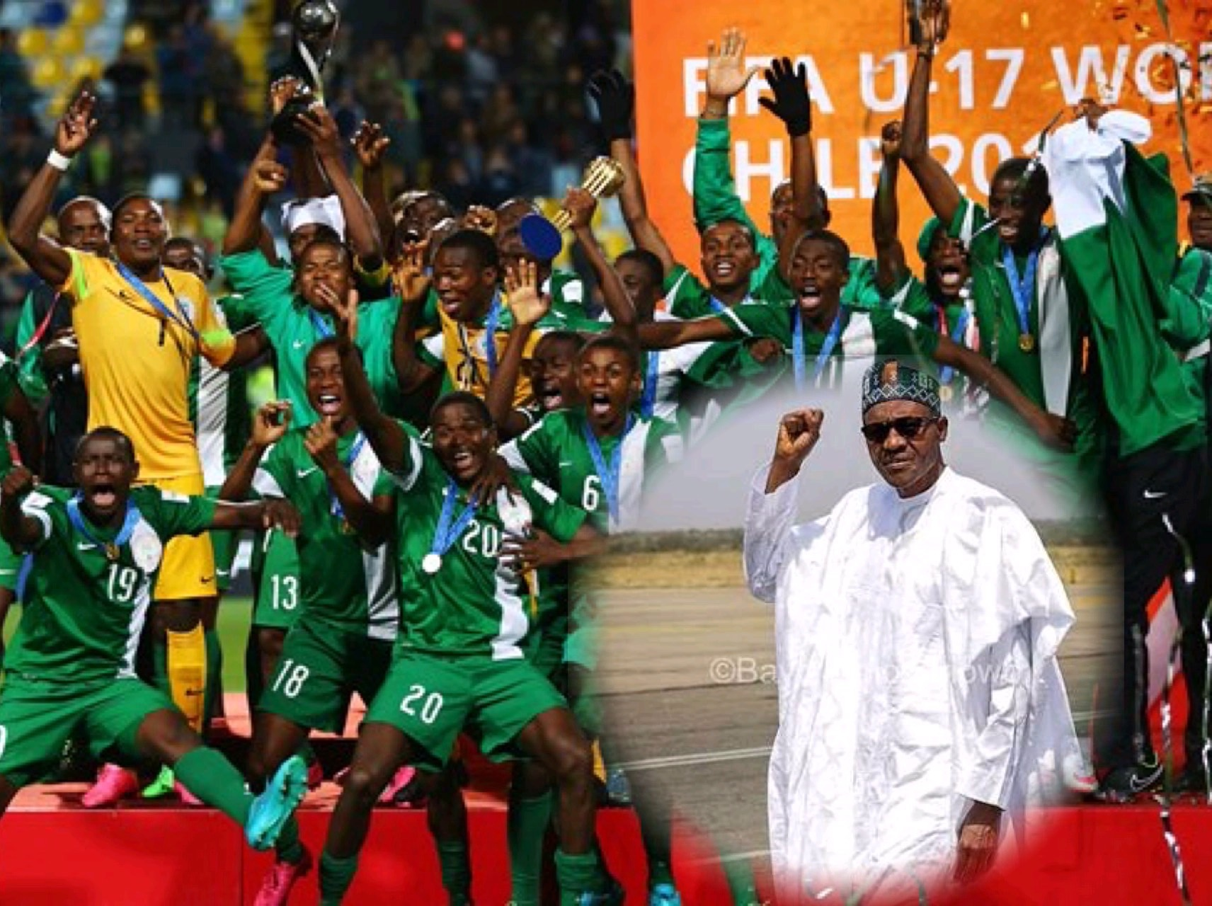 Buhari Rewards 1985, 2015 Eaglets, D'Tigers, Jighere With Millions