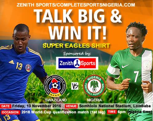 The Winners: Swaziland Vs Nigeria – Talk Big & Win It!