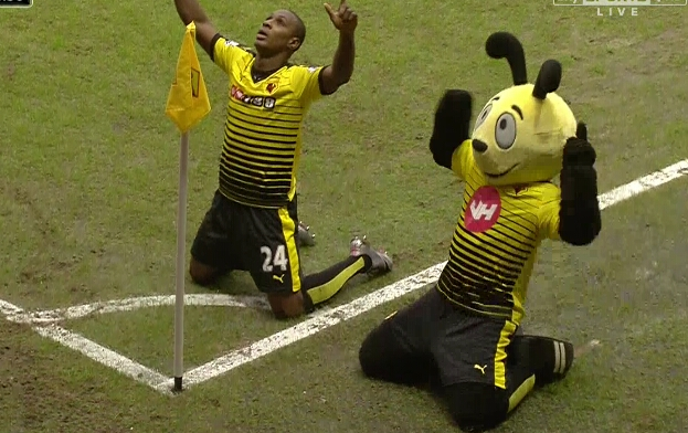 Ighalo Nets 12th League Goal As Watford Spank Liverpool