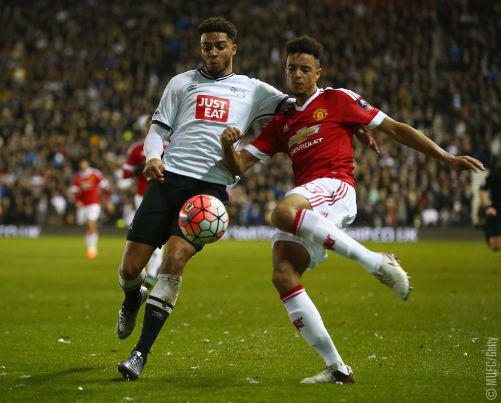 Man United Ease Past Derby Into FA Cup 5th Round