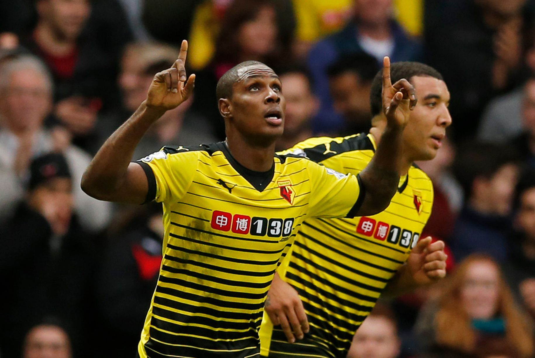 Pardew: Watford's Ighalo, Deeney Can Wreck Palace