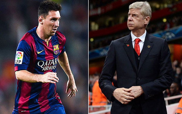 Wenger Backs Messi For Ballon D'Or, Rules Sanchez Out Of Liverpool Clash