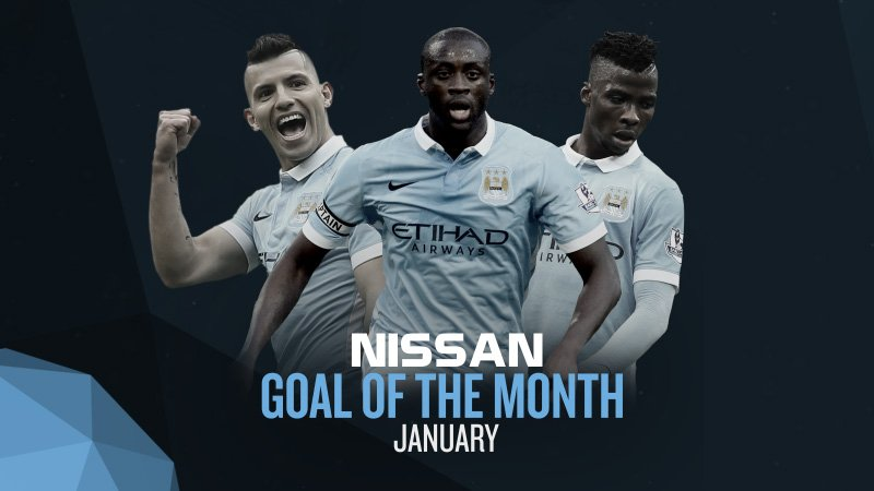 Iheanacho Battles Toure, Aguero For City Goal Of The Month