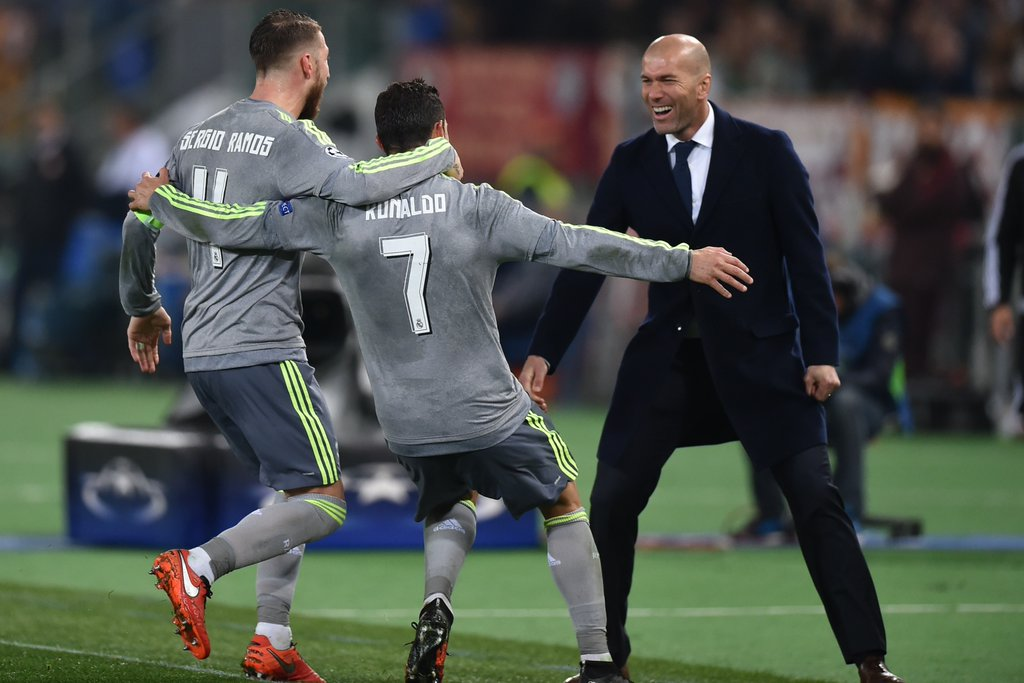 Ronaldo On Target As Real Madrid See Off Roma