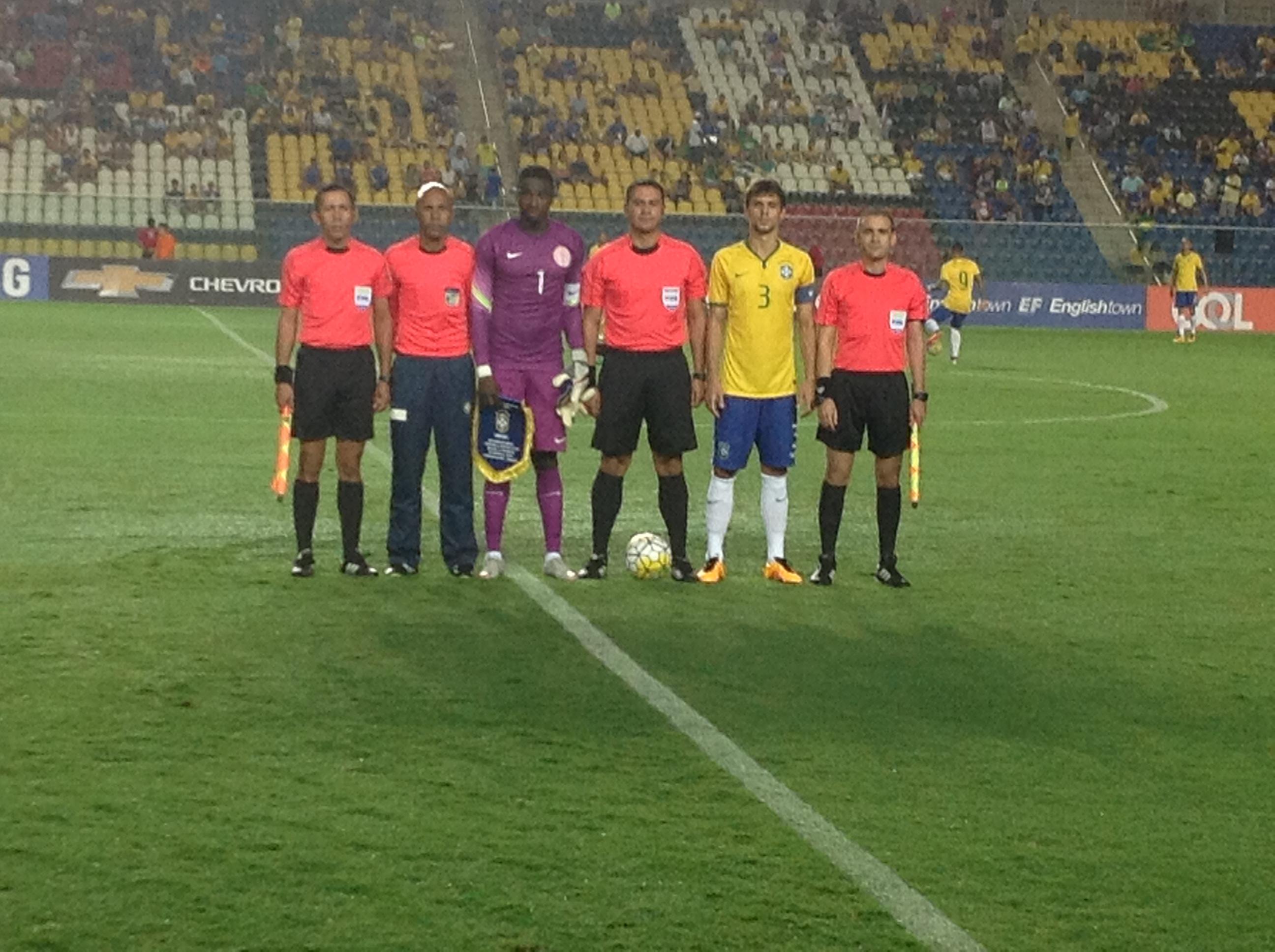 Amoo Praises U-23 Eagles After Shock Victory Over Brazil