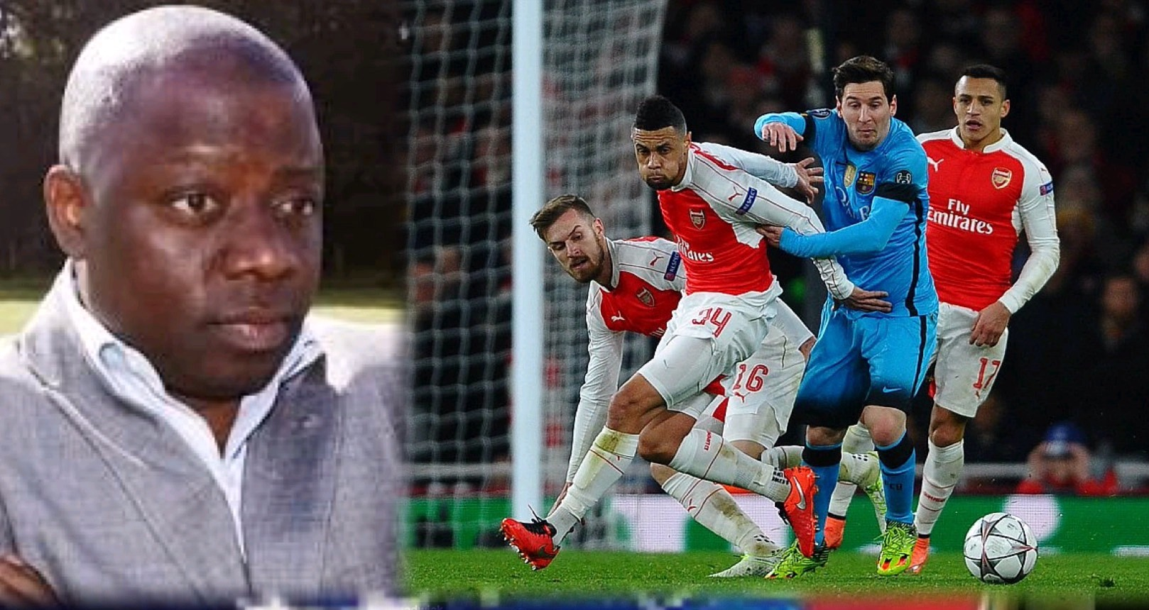 John Shittu: Arsenal Can Shock Barcelona At Camp Nou