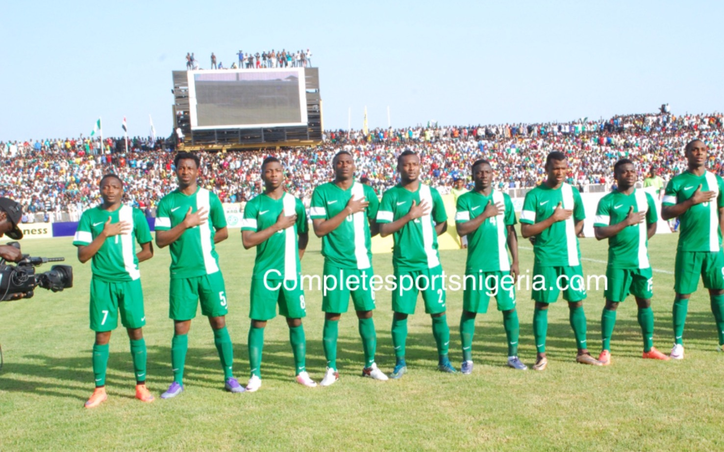 Echiejile: Super Eagles Must Be Brave Vs Egypt
