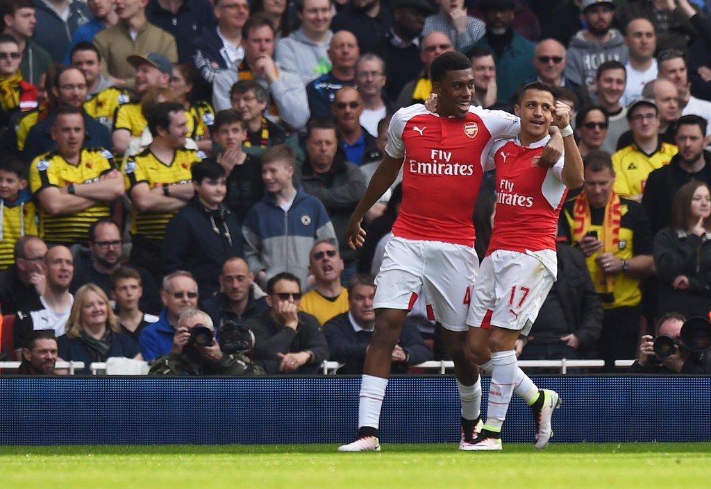 Iwobi Scores, Assists; Ighalo Struggles As Arsenal Pound Watford