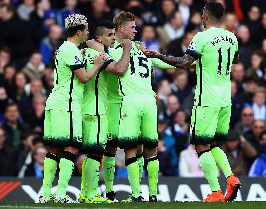 Aguero Bags Hat-Trick As Man City Destroy Chelsea
