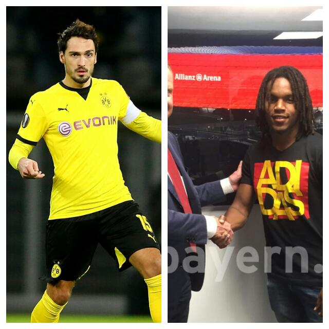 Bayern Sign Hummels, Sanches From Dortmund, Benfica