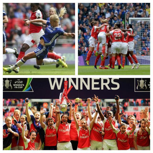Oshoala Shines As Arsenal Beat Chelsea In FA Cup Final