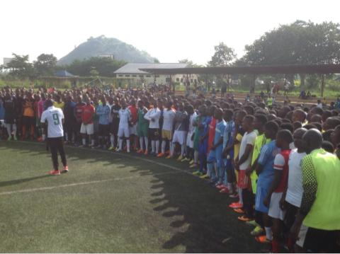 Over 3,000 Kids Turn Up For Golden Eaglets Screening