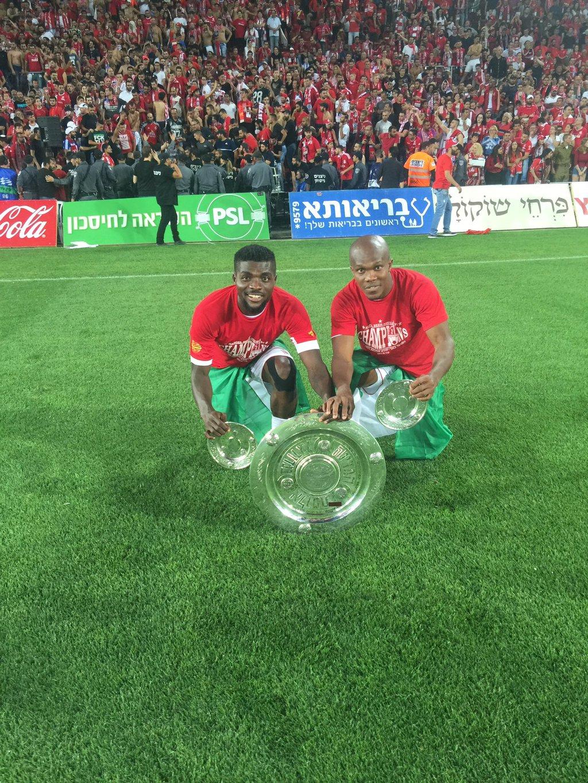 Ogu, Nwakaeme Win Israeli League; Eleke Scores