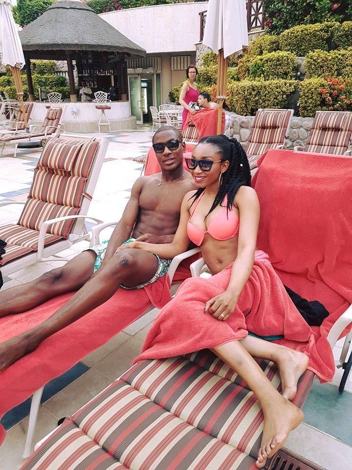 Ighalo, Wife Cool Off In Dubai